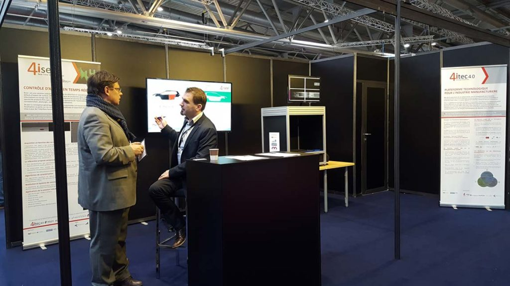 4itec au salon BE 4.0 de Mulhouse Parc Expo